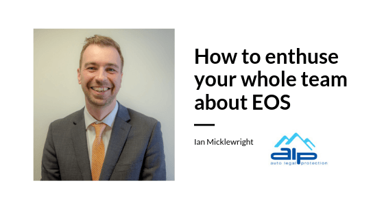Ian Micklewright - EOS middle managers workshop guest post