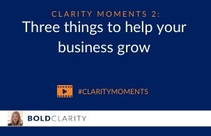 Three things to help your business grow