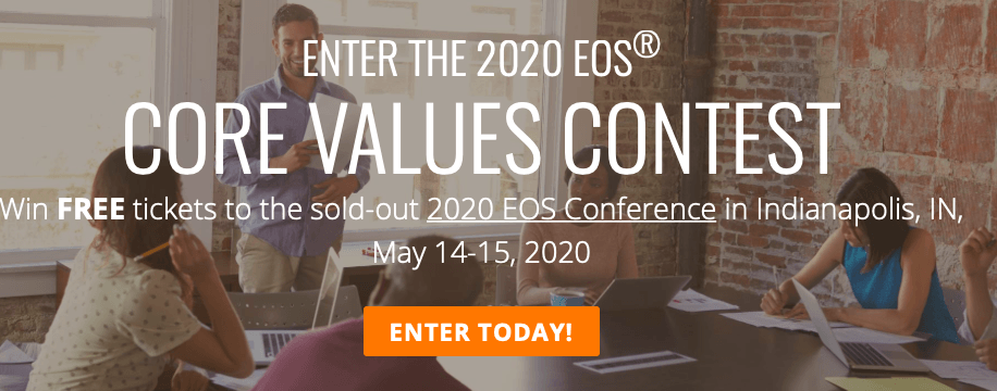 EOS Core Values competition