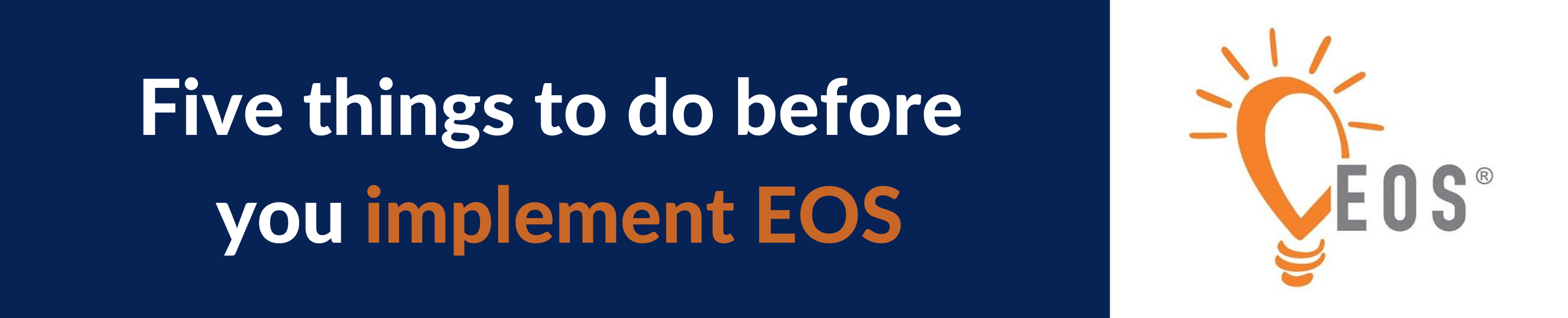 implementing EOS
