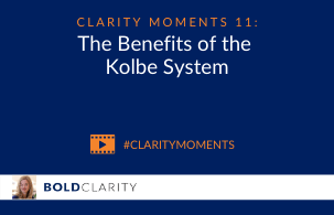 The Benefits of the Kolbe System