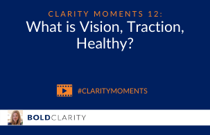 What is Vision, Traction, Healthy?