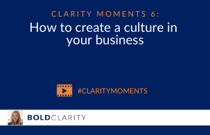 How to create a culture in your business